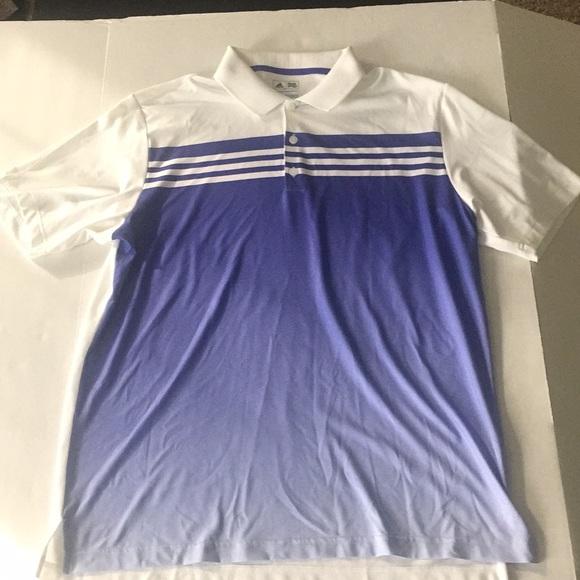 Camisas de Polo Golf whiteblue poshmark adidas climacool